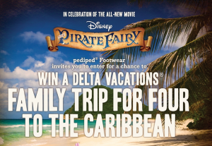 Win a family trip to the Caribbean.