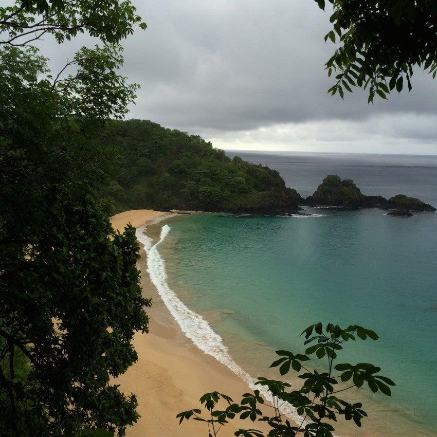 Fernando de Noronha's Praia de Sancho, recently named best beach in the world by Trip Advisor