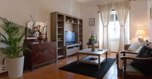 A great apartment rental I stayed at in Trastevere from Rentals in Rome.