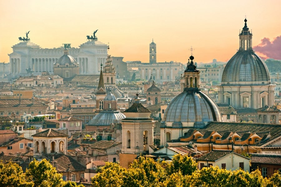 La bella Roma.