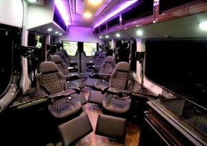 The interior of the Foyal Sprinter (photo by Terry Minix)