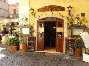 Rugantino restaurant.