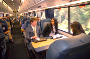 Acela first-class service on Amtrak (photo by Amtrak)