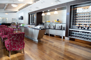 BA's Galleries Club World lounge at LHR's Terminal 5