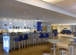BA's Terraces lounge at JFK