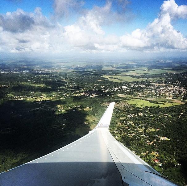 My arrival into Recife...Bom Dia!