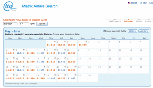 The low fares from JFK are available throughout April-June.