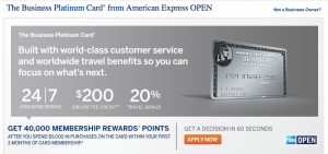 The Business Platinum Card recently upped its sign-up bonus.