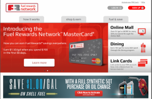 The Fuel Rewards Network offers some interesting options.