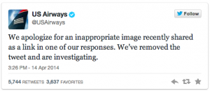 US Airways Response