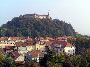 A Ljubljana hilltop.