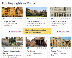 Stay is a great resource so you don't have to turn on your data roaming to find your way around Rome.
