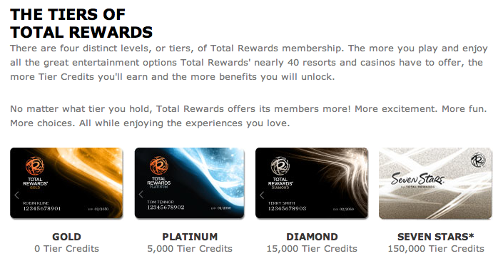 4 Go For Platinum Status In The Total Rewards Program This May Seem Like Chasing Elite Just Sake Of But If You Typically