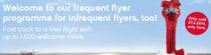 Get up to 1,500 bonus points for joining Air Berlin's topbonus program.