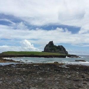 Swimming holes amongst the rocks