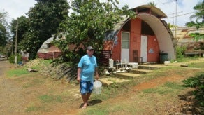 The Hotel Esmerelda do Atlantico was Fernando de Noronha's first hotel, but is now home to unwelcome squatters