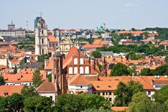 Vilnius has a stunning old city.