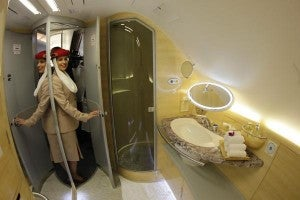 Just when you thought Emirates couldn't top an onboard shower, there's