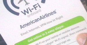 American features WiFi on its 777-300ER
