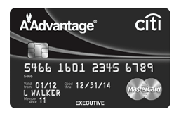 The Citi Executive AAdvantage card comes with Admirals Club access and  Chip+Signature technology...and 100,000 Miles!