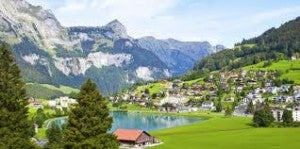 Engelberg in summer.