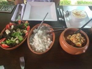 Moqueca de peixe, or Brazilian fish stew