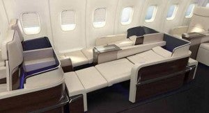 Ivory leather lie-flat seats onboard? Don't mind if I do!