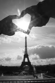A romantic weekend in Paris.