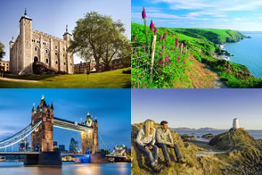Win $5000 to spend on a trip to England and Wales.