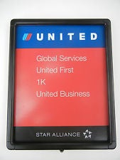 United's Global Services is first to board - even before First