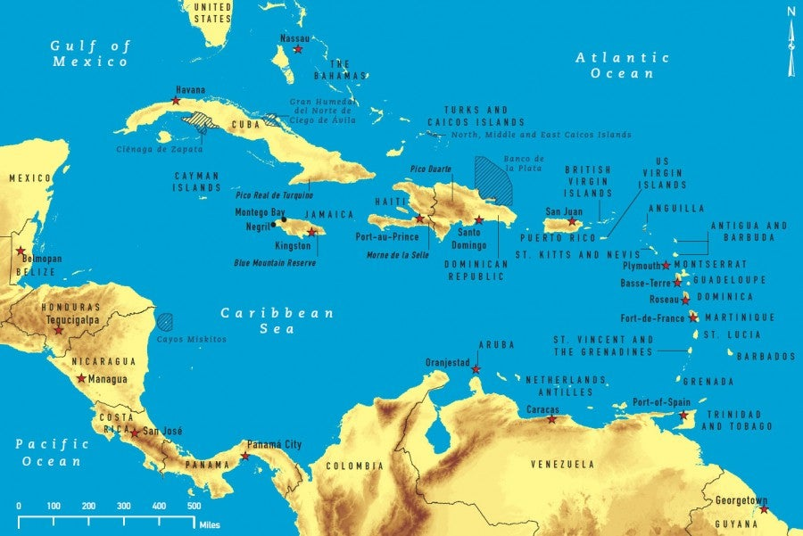 Isn't a trip to the Caribbean sounding good right about now?