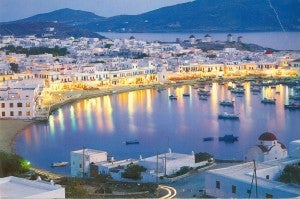 Mykonos...on my summer hit list, thanks to US Airways!