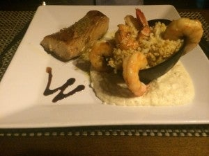 Sergio's shrimp and fish