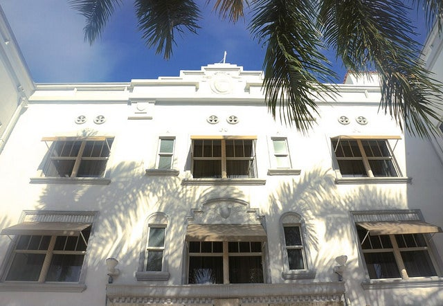 The Blue Moon's well-preserved Art Deco building dates to 1934