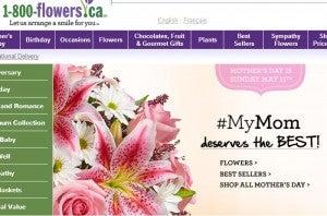 Earn 25 Amtrak reward points per dollar spent at 1-800 Flowers.com.