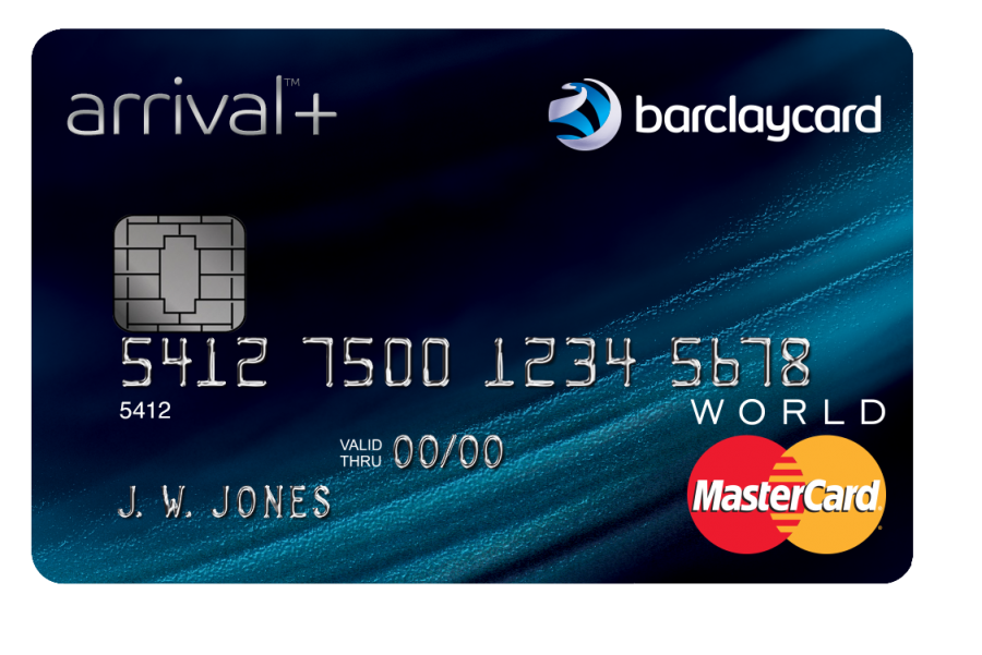 The new Barclaycard Arrival Plus World Elite Mastercard.