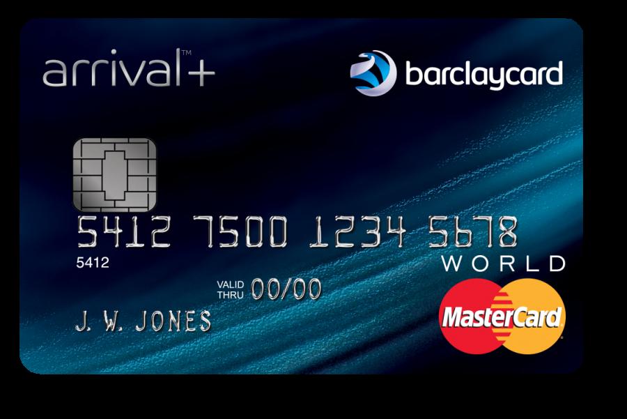 The new Barclaycard Arrival Plus World Elite Mastercard.