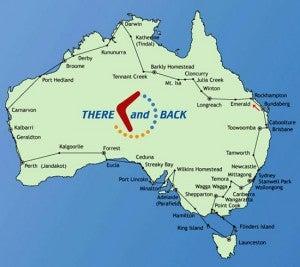 Australia is bigger than it looks!