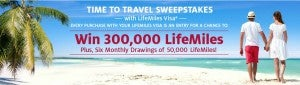 Avianca is giving away LifeMiles for purchases on your LifeMiles Visa