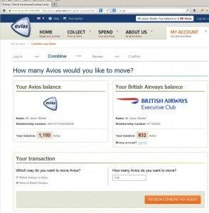 Avios.com Combine3