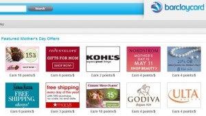 Barclaycard Rewards Boost shopping portal.