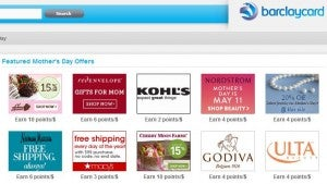 Barclaycard Rewards Boost shopping portal.