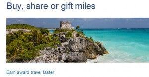 Buy US Airway miles.