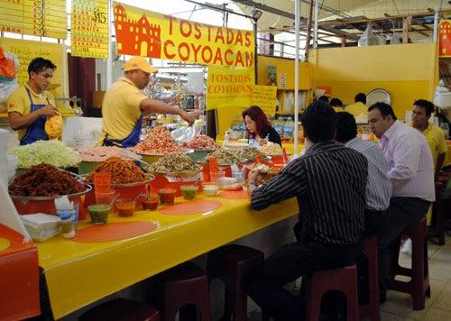 Tostadas de Coyoacan