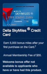 Delta Base SkyMiles