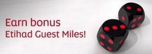 Earn double/triple miles flying Etihad