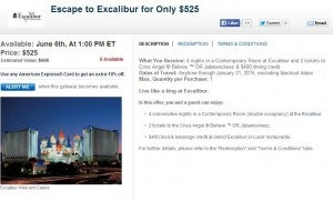 Las Vegas Hotel packages