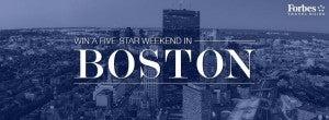 Win a trip to Boston