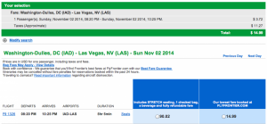 At this price you can afford to lose a little in Vegas!