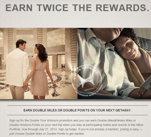 Get Hilton Hhonors points or Turkish Air miles